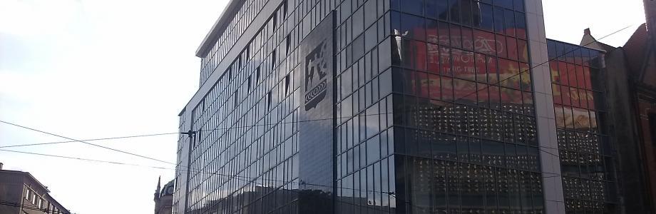 PRACE MALARSKIE : Biurowiec w Katowicach ul.Młyńska